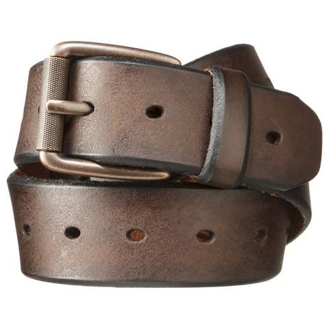 s brown holes belt brown merona target