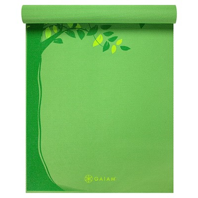 Gaiam Spring Tree Yoga Mat (3mm)