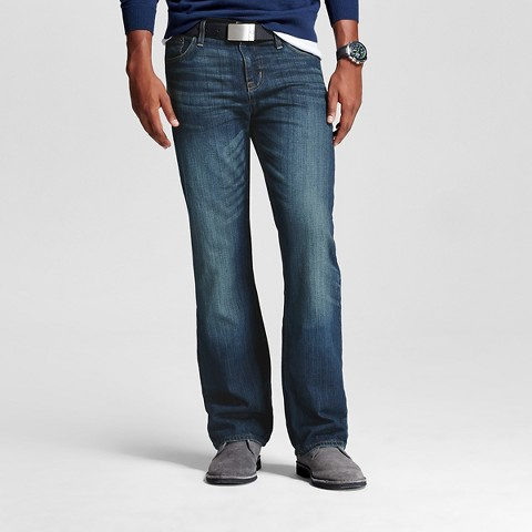 Men's Straight Leg Jeans   - Mossimo Supply Co