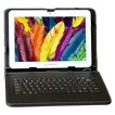 """LINSAY 10.1"""" Quad Core CPU 1280x800 Resolution Tablet with Keyboard and Pen - White (F10XHD4BKEY)"""