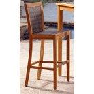 Panama Jack™ Leeward Islands 2-Piece Teak/Wicker Patio Barstool Furniture Set