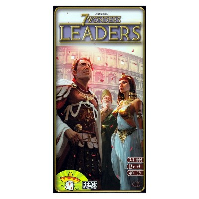 7 Wonders Strategy Game Leaders Expansion Pack
