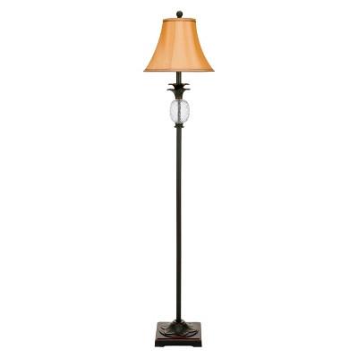 Safavieh Alyssa Tall Pineapple Lamp - Black/Brown