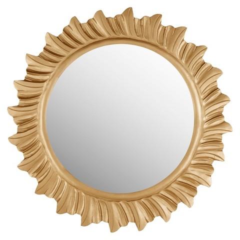 Safavieh By The Sea Mirror - Gold
