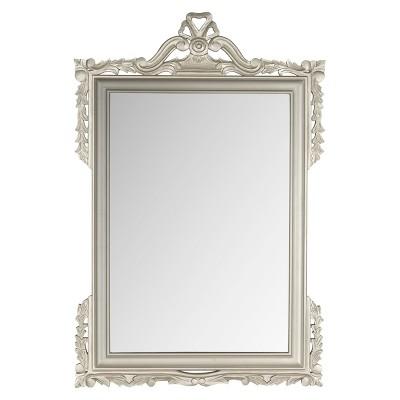 Safavieh Decorative Pedimint Mirror - Pewter