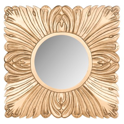 Safavieh Acanthus Mirror - Gold