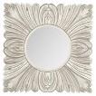 Safavieh Acanthus Mirror - Pewter