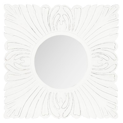 Safavieh Acanthus Mirror - White