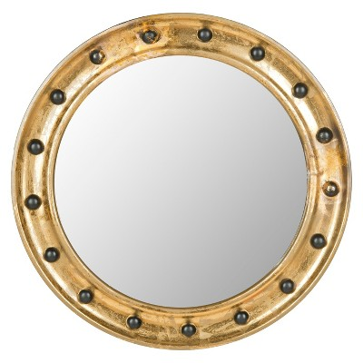 Safavieh Mariner Porthole Mirror - Gold