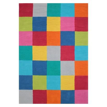 Circo Color Block Area Rug - Multicolor (7'x10')
