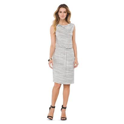 Women's Easy Waist Dress Space Dye