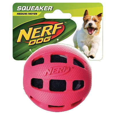 """NERF Tennis Ball in Rubber - 3"""" Red"""