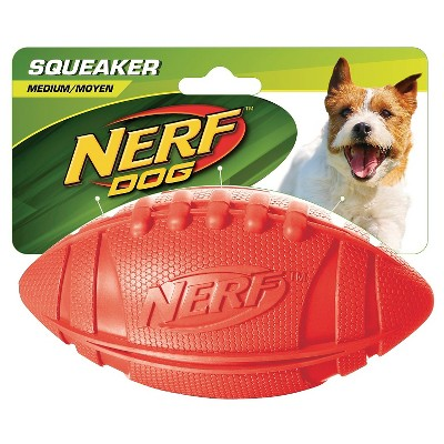 "NERF Big Squeaker Football - 5.5"" Red"