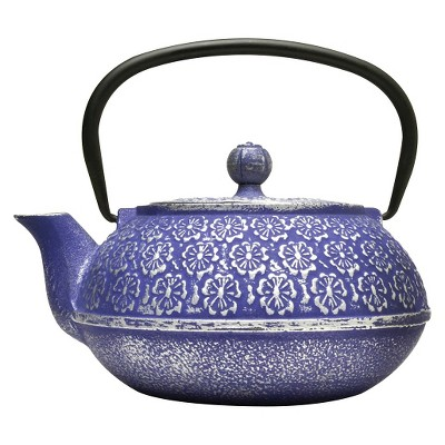 TEA POT PRIM 40OZ. BLU