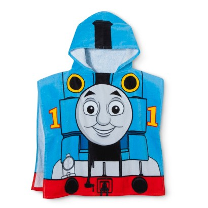 Thomas the Tank Engine Hooded Towel - Blue