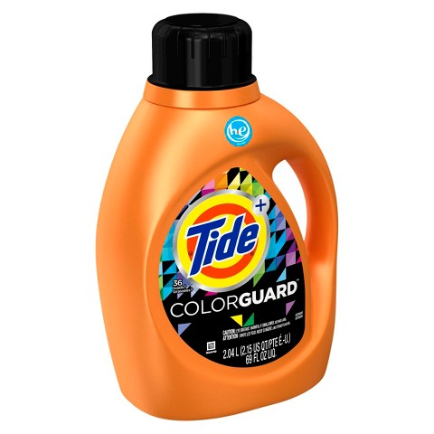 Tide Plus Colorguard High Efficiency Liquid Laundry Detergent 69 oz