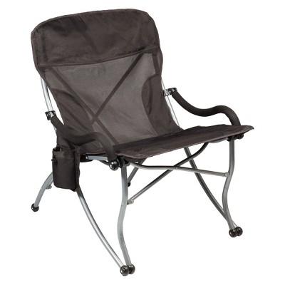Picnic Time PT-XL Camp Chair - Black