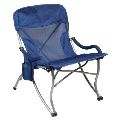 Picnic Time PT-XL Camp Chair - Navy (12.0 Lb)