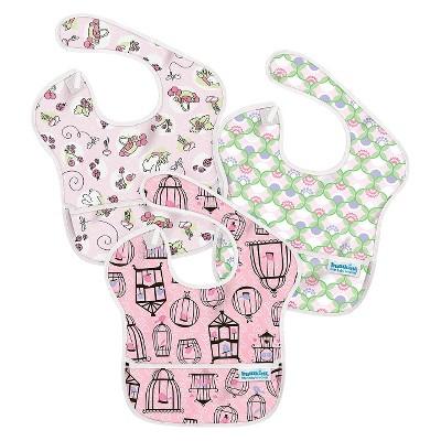 Bumkins Superbib 3ck Baby Bib Set - Pink