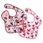 Bumkins Disney Baby Minnie Mouse 2pk Waterproof SuperBib® Baby Bib Set - Pink