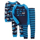 Just One You™ Made by Carter's&#174 Toddler Boys' 4-Piece Mix & Match Airplane Pajama Set