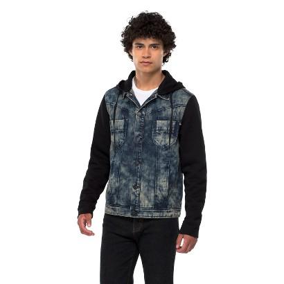 Crash Men's Denim Jacket - Acid Wash