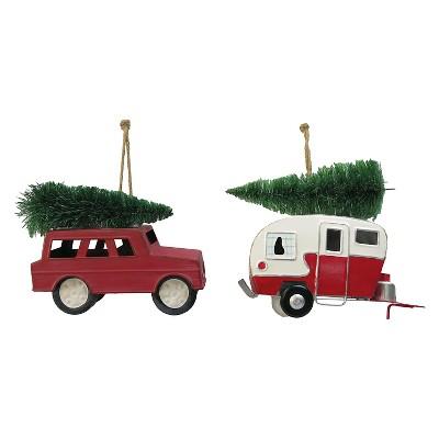 Truck/Camper Ornament Assorted