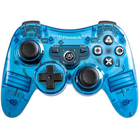 Power A Illuminated Wireless Controller - Blue (PlayStation 3)