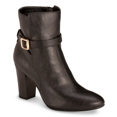 s ankle boots black target