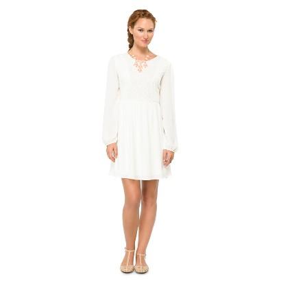 Women's Lace Bodice Dress