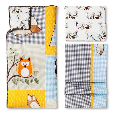 Trend Lab Let's go camping 3pc Crib Set