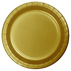 Creative Converting Bulk Dinner Plates Gold 60 ct