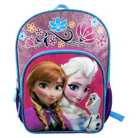 Disney Frozen Backpack with Super Lights - Purple/Pink