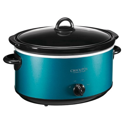 Crock-Pot® 6-Quart Manual Slow Cooker, Turquoise, SCV603-TQ