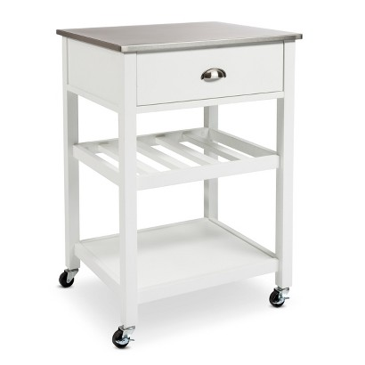 Threshold stainless steel top kitchen cart target - Target kitchen cart ...