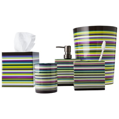Techno Stripe Bath Coordinates