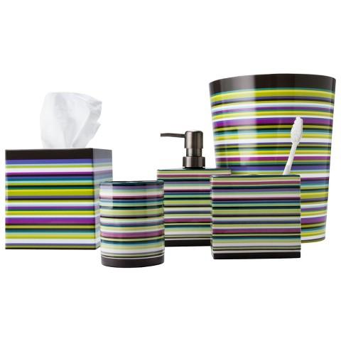 Techno Stripe Bath Coordinates