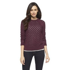 Raglan Sleeve Sweater Potent Purple S - Cherokee