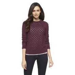 Raglan Sleeve Sweater Potent Purple S - Cherokee