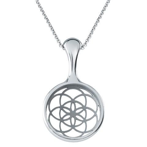 Misfit Bloom Necklace - Silver (8119151)