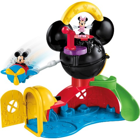 Fisher-Price Disney Mickey Mouse Play Around Clubhouse