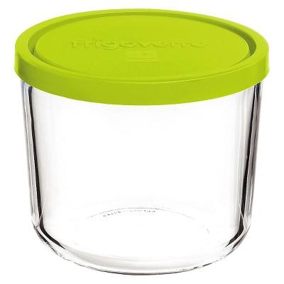 Bormioli Rocco Frigoverre Multi 24 oz. Round Tall Glass Bake and Serve Storage Container