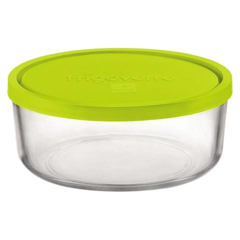 Bormioli Rocco Frigoverre Multi 22 oz. Round Medium Glass Bake and Serve Storage Container