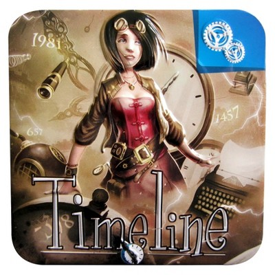 Timeline Inventions Educational Card Game