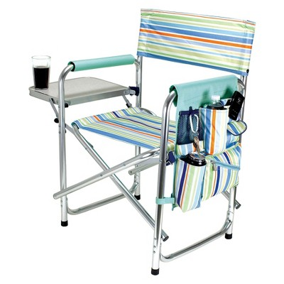 Picnic Time Sports Chair St. Tropez Collection - Multicolor (10.25 Lb)