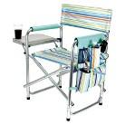 Picnic Time Sports Chair St. Tropez Collection - Multicolor (10.25 Lb)