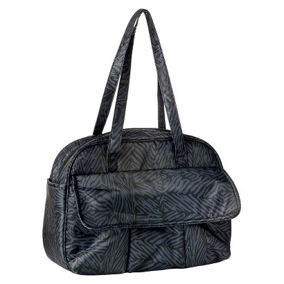 Nixi by Bumkins Recycled Fabric Arcata Diaper Bag - Flint