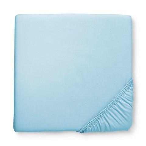 Circo Solid Woven Fitted Crib Sheet