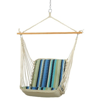 Original Pawleys Island Outdoor Cushion Single Swing - Beaches stripe