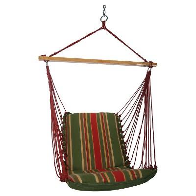 Original Pawleys Island Outdoor Cushion Single Swing - Trellis Stripe